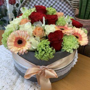 Flower box Lydia